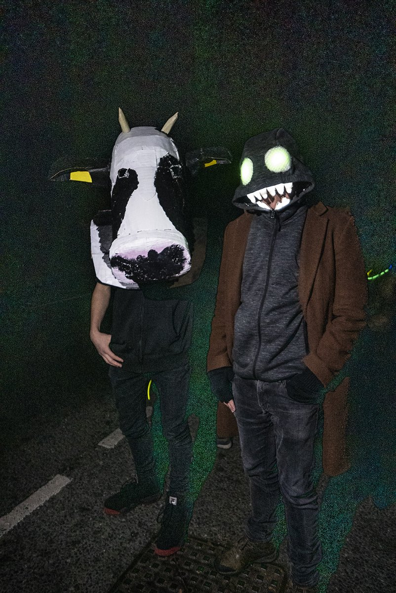 maximum cow and monsieur monster james