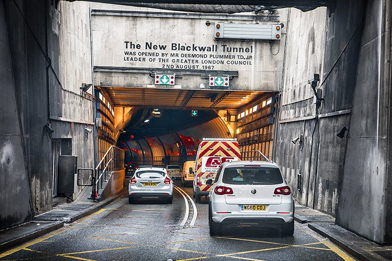 the (not so) new blackwall tunnel
